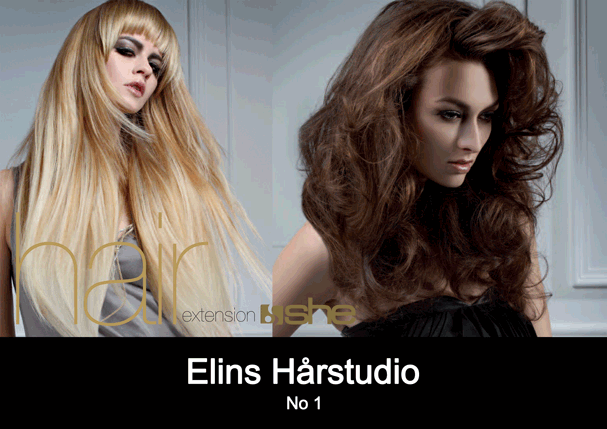 Hair extensions SHE So Cap frisør Sandefjord Elins Harstudio