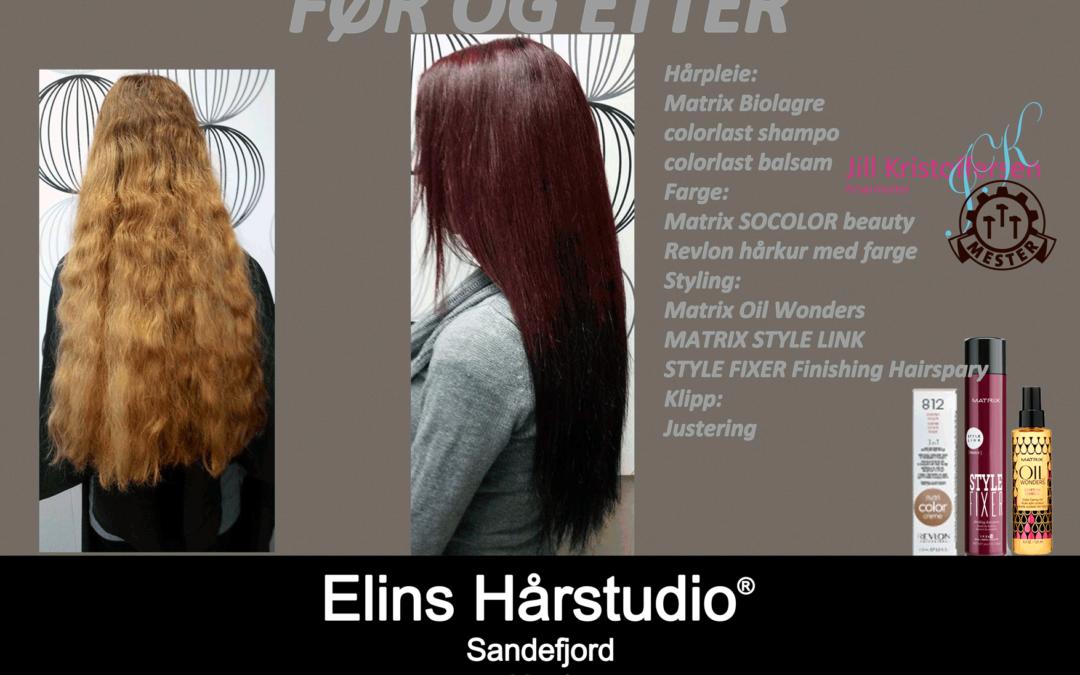 revlon hårkur med farge