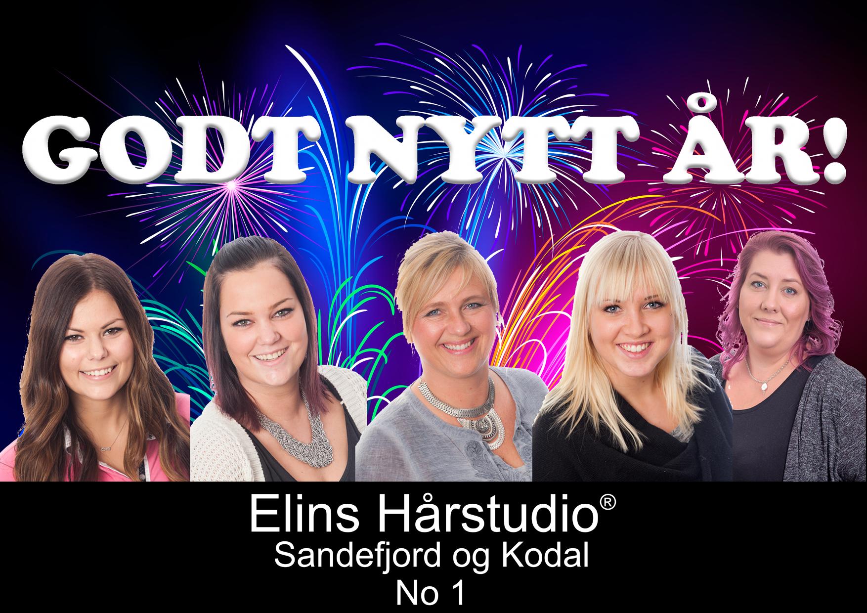 VI ØNSKER ALLE ET GODT NYTT ÅR 2016
