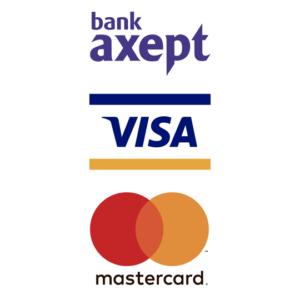 Bank axept visa mastercard