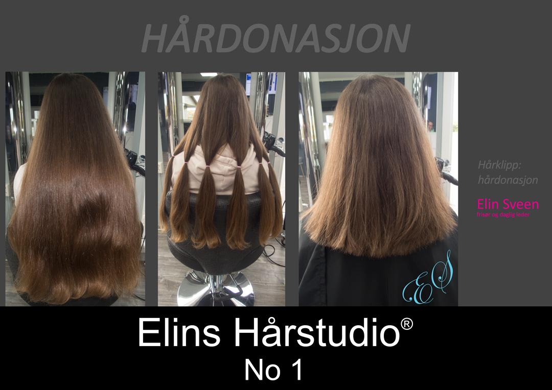 hårdonasjon donere hår