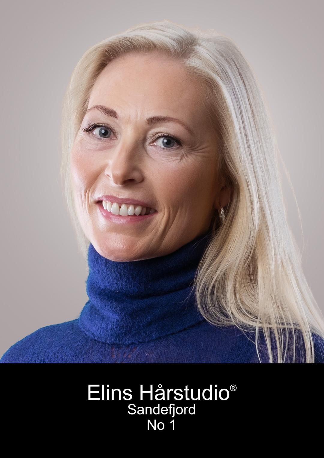 Stine Therese frisør Sandefjord elins harstudio