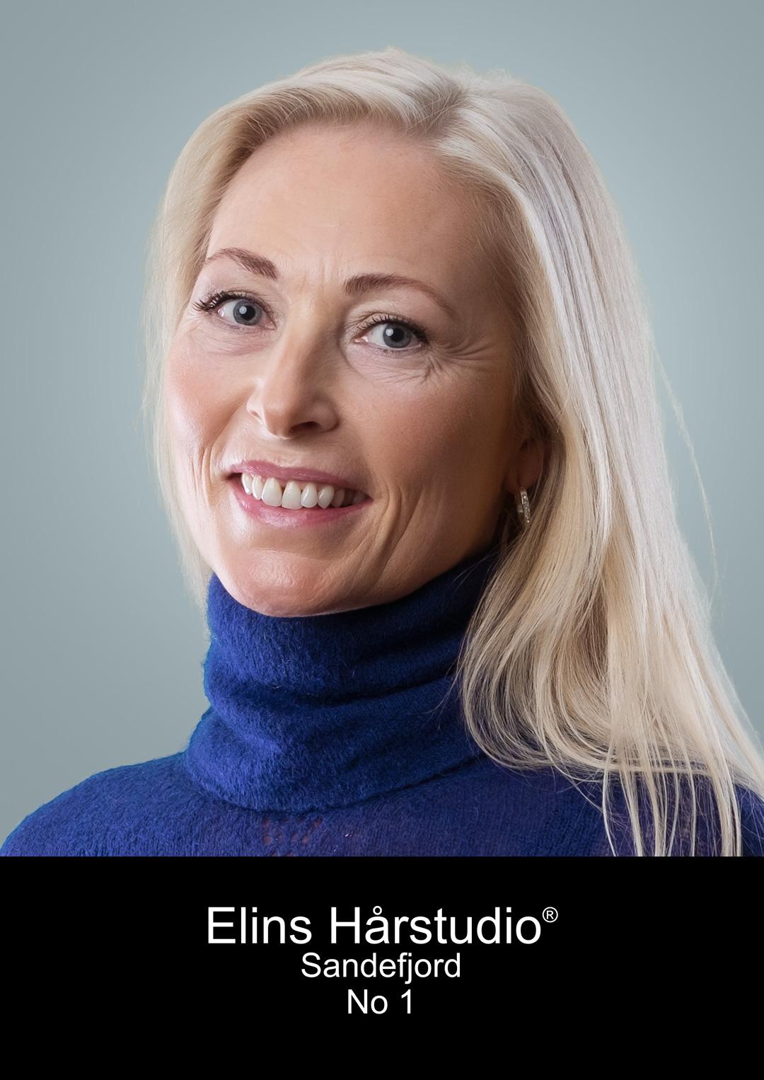 Frisør Sandefjord Stine Therese Haakonsen