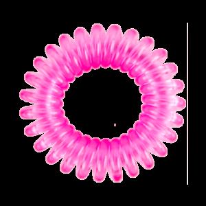 hh simonsen hair cuddles 3-pack rosa metallisk