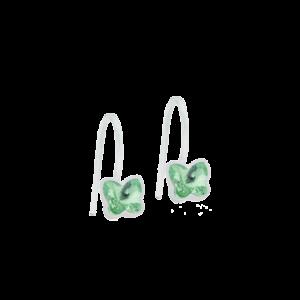 Blomdahl earring medical plastic pendant fixed butterfly peridot 5 mm