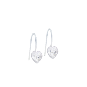 Blomdahl earring medical plastic pendant fixed heart crystal 6 mm