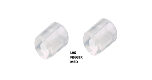 Blomdahl medical stoppere til hengende titan og fixed pendant