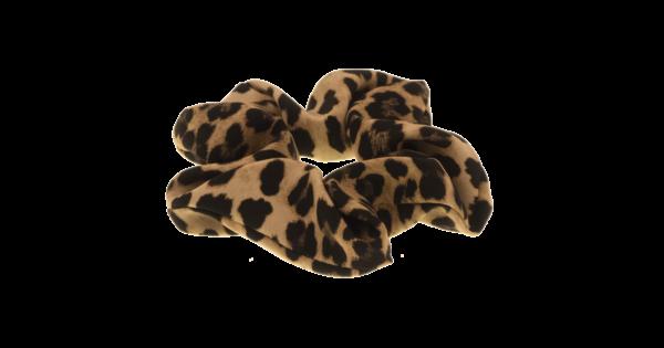 Scrunchie leopard handmade by martine limited edition