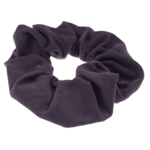 Scrunchie mauve corduroy handmade by martine limited edition
